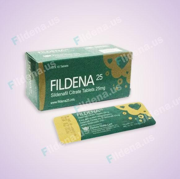 Fildena 25 Mg