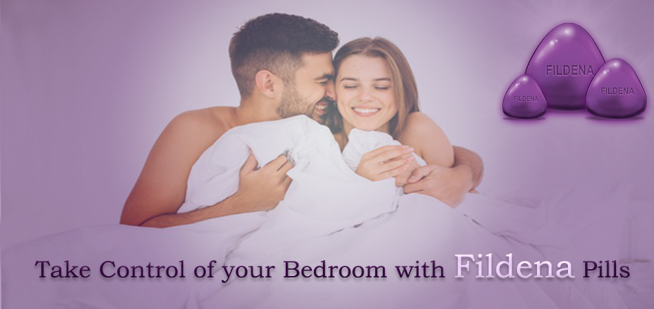 Take Control of your Bedroom with Fildena Pills